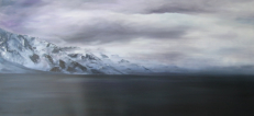 "Across the Water  Oil  20""x40"" -- SOLD"