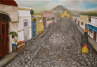 "Guatemalan Street Oil  48""x72""  Commissioned Piece (SOLD)"