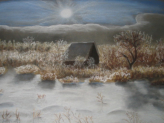 "The House that Jack Built   Soft Pastel  30""x40""  Commissioned Piece  SOLD"