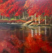 Red Reflections SOLD